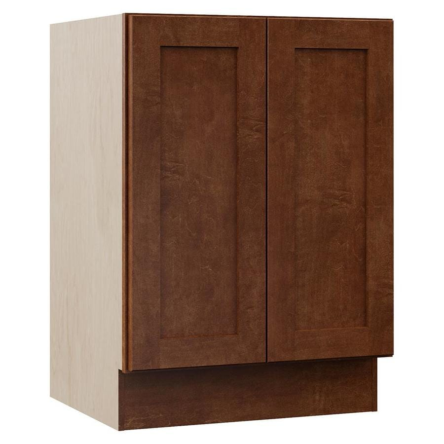 VILLA BATH by RSI Sanabelle Cognac Bathroom Vanity (Common: 24-in x 22-in; Actual: 24-in x 21.5-in)