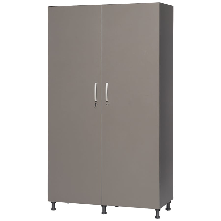 Wooden Storage Cabinets With Doors Shop Garage Cabinets Storage Systems At Lowescom