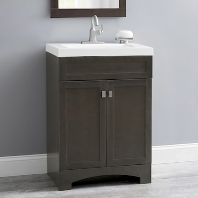 Stupendous Style Selections Drayden 24 5 In Heirloom Single Sink Interior Design Ideas Tzicisoteloinfo