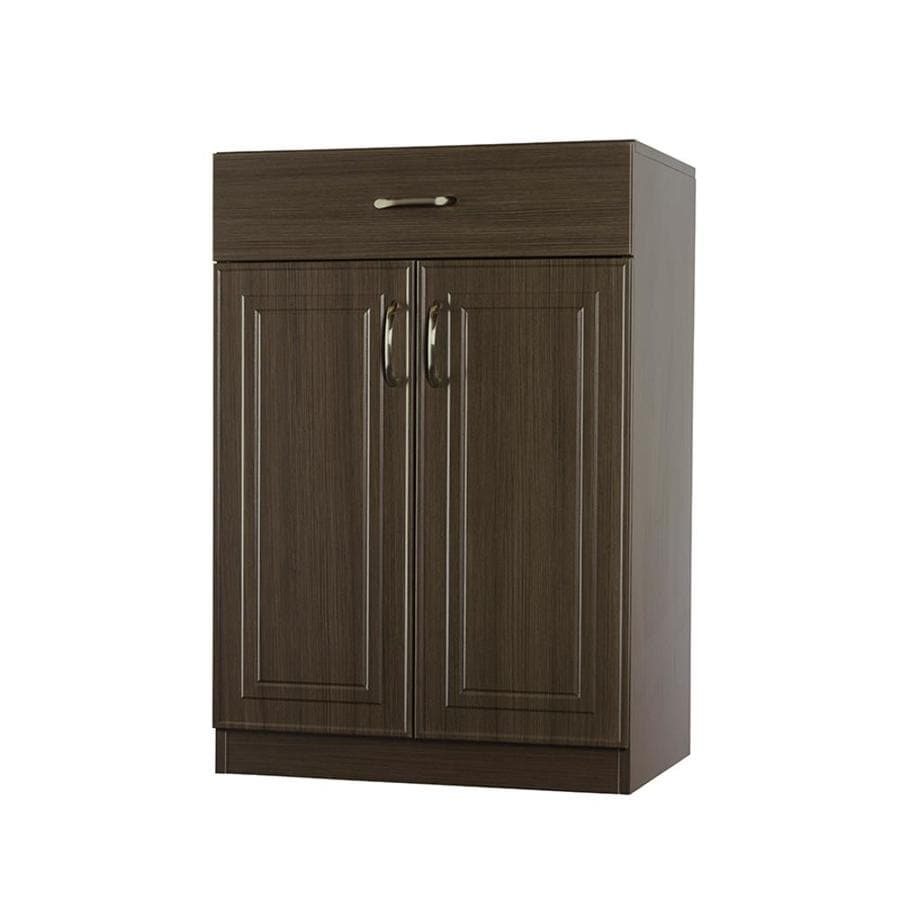 ESTATE by RSI 23.75-in W x 34.5-in H x 16.5-in D Wood Composite Freestanding Utility Storage Cabinet