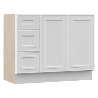 Catalina 42-in White Bathroom Vanity Cabinet