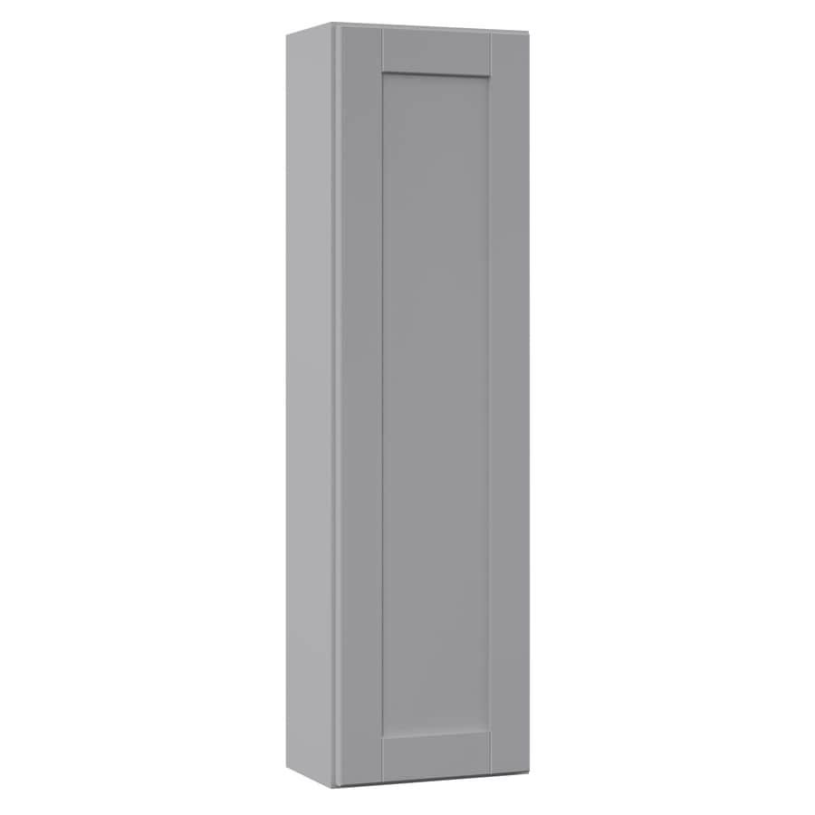 Shop VILLA BATH by RSI 12-in W x 42-in H x 7.25-in D Gray Bathroom ...