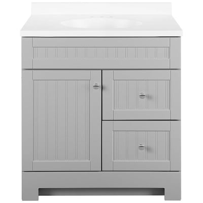 Gray Bathroom Vanities At Lowes Com