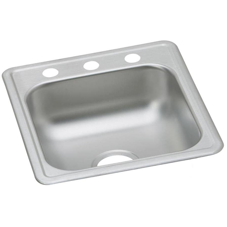 Gentil Elkay Dayton Stainless Steel Drop In Residential Bar Sink