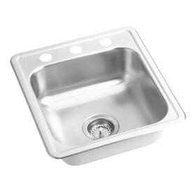 Elkay Dayton Satin Stainless Steel Drop In Residential Bar Sink