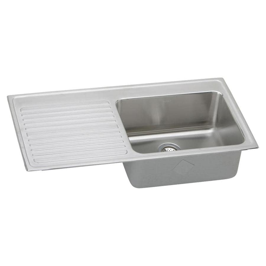 43 x 22 kitchen sink shop elkay gourmet 43 in x 22 in lustrous highlighted 7359