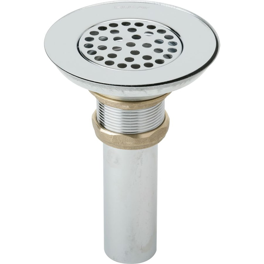 Shop elkay stainless steel grid drain decorative sink