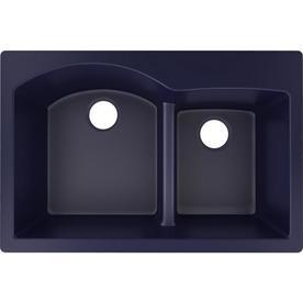 Elkay Quartz Luxe 33 In X 22 Jubilee Double Basin Drop