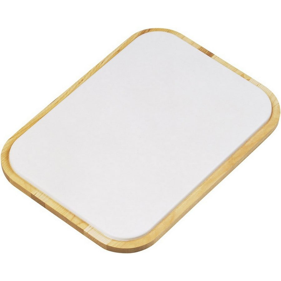 Elkay 1 11.25-in L x 14.5-in W Wood Cutting Board