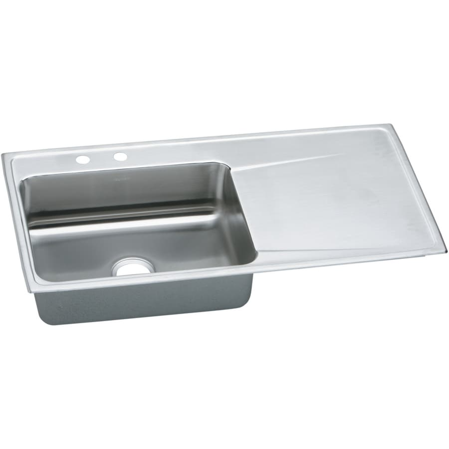 Elkay Stainless Kitchen Sink With Drainboard Besto Blog