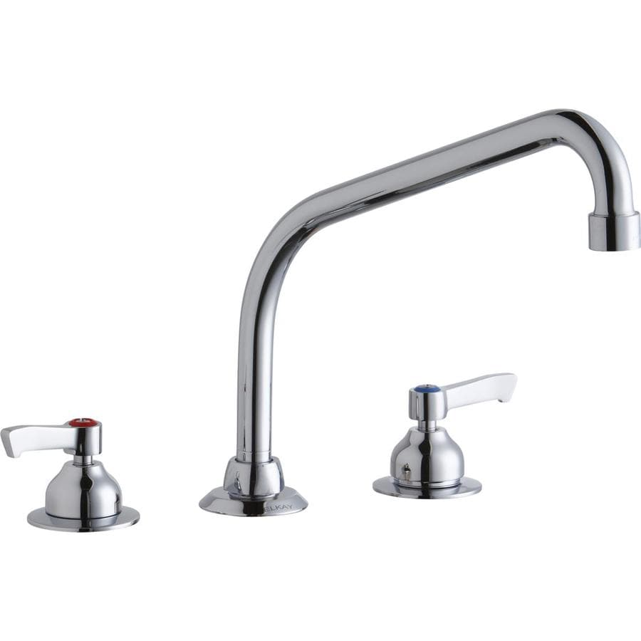 Elkay Chrome 2 Handle Utility Faucet At Lowes Com