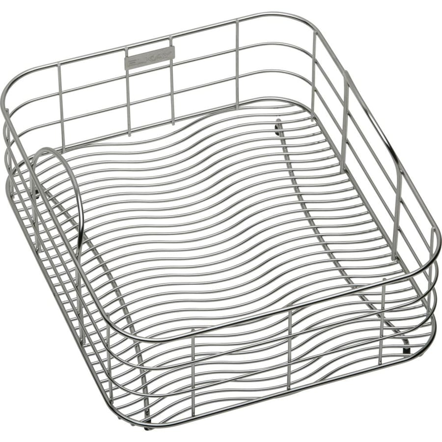 Elkay 10.5-in W x 15-in L x 8-in H Metal Dish Rack and Drip Tray