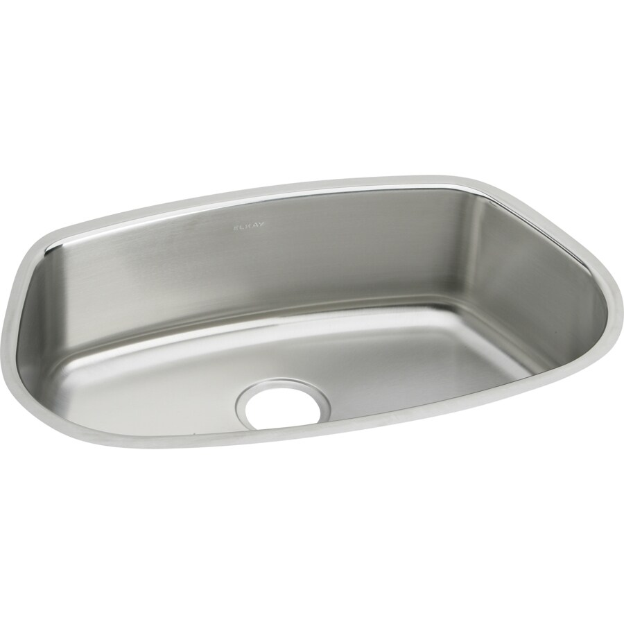 Elkay Mystic Lustrous Highlighted Satin Stainless Steel Undermount Residential Bar Sink