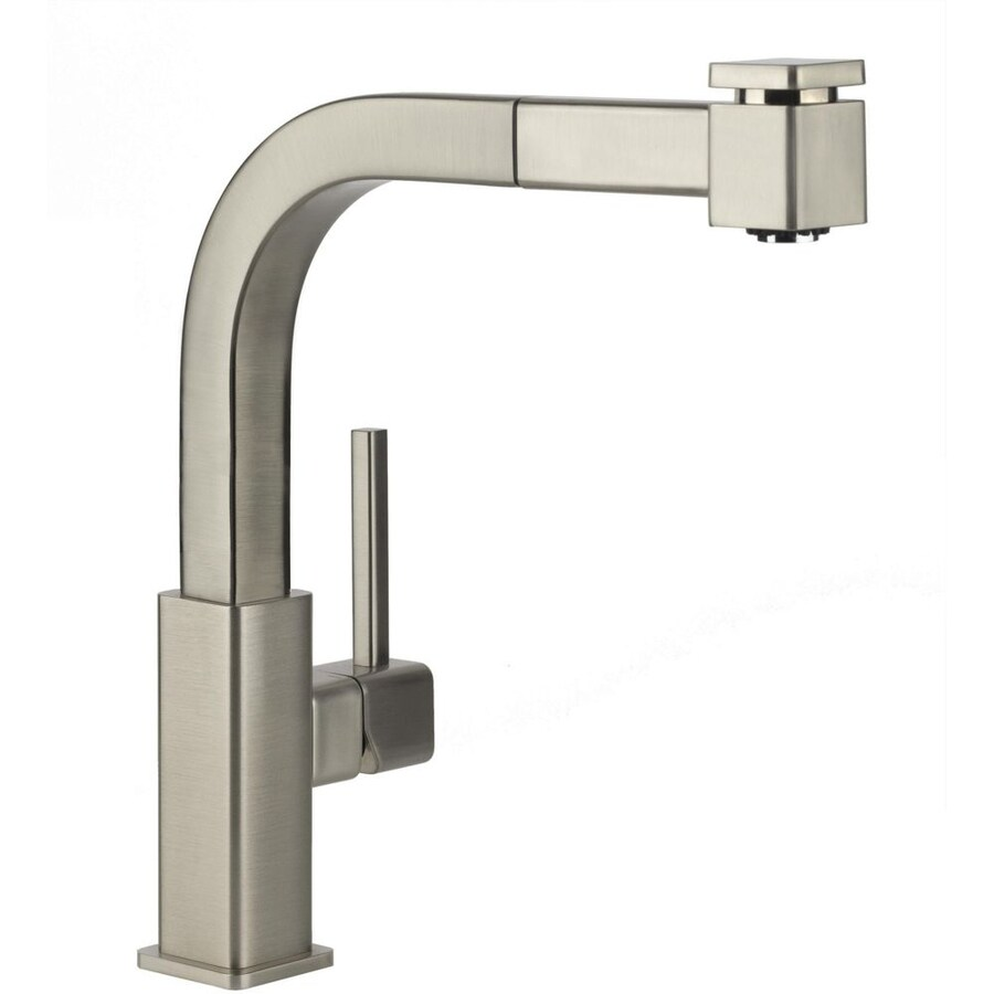 Elkay Avado Brushed Nickel 1-Handle Pull-Out Kitchen Faucet