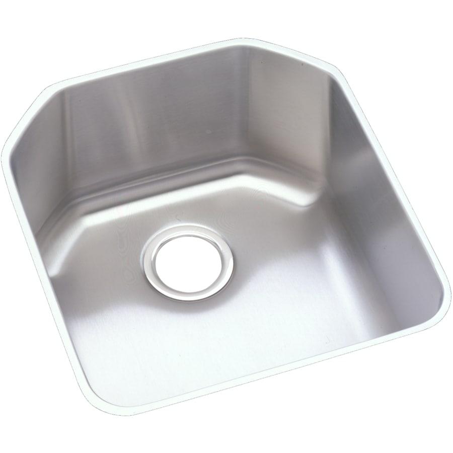 Elkay Harmony 20.5-in x 18.5-in Single-Basin Stainless Steel Undermount Residential Kitchen Sink