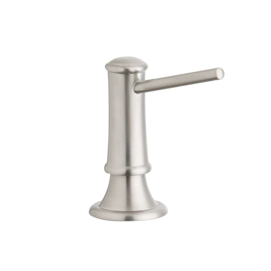 Elkay Explore Brushed Nickel Soap and Lotion Dispenser
