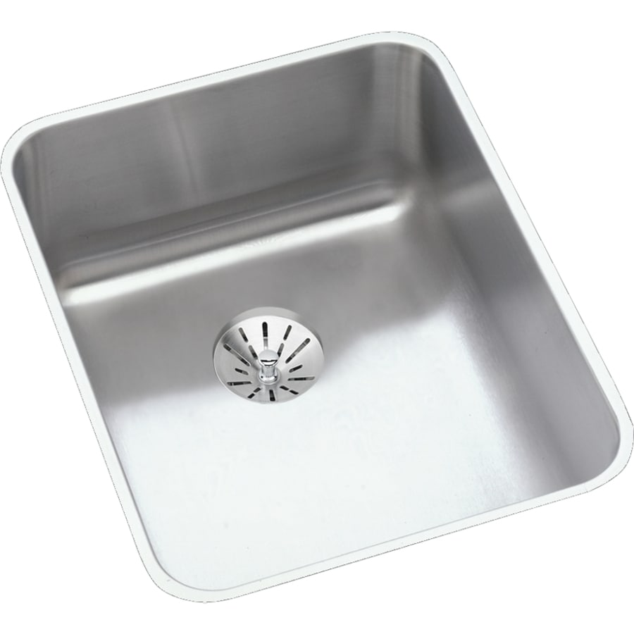 Elkay Gourmet 20.5-in x 16.5-in Stainless Steel Single-Basin Undermount Residential Kitchen Sink