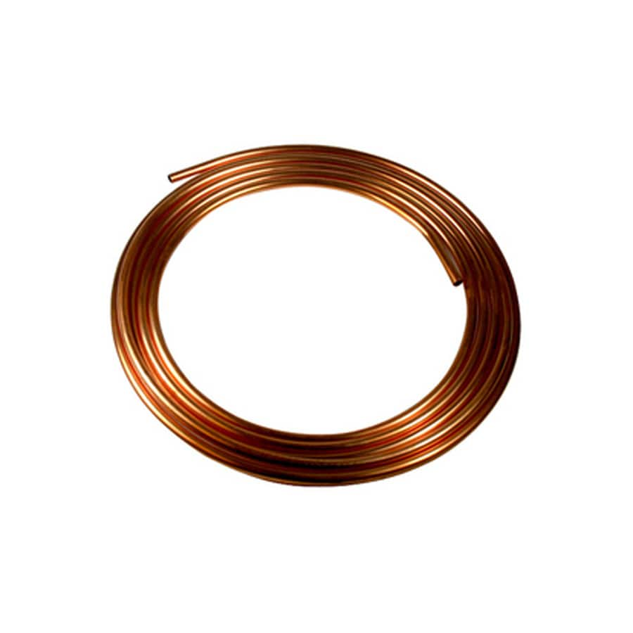 1/4-in dia x 10-ft L Coil Copper Pipe