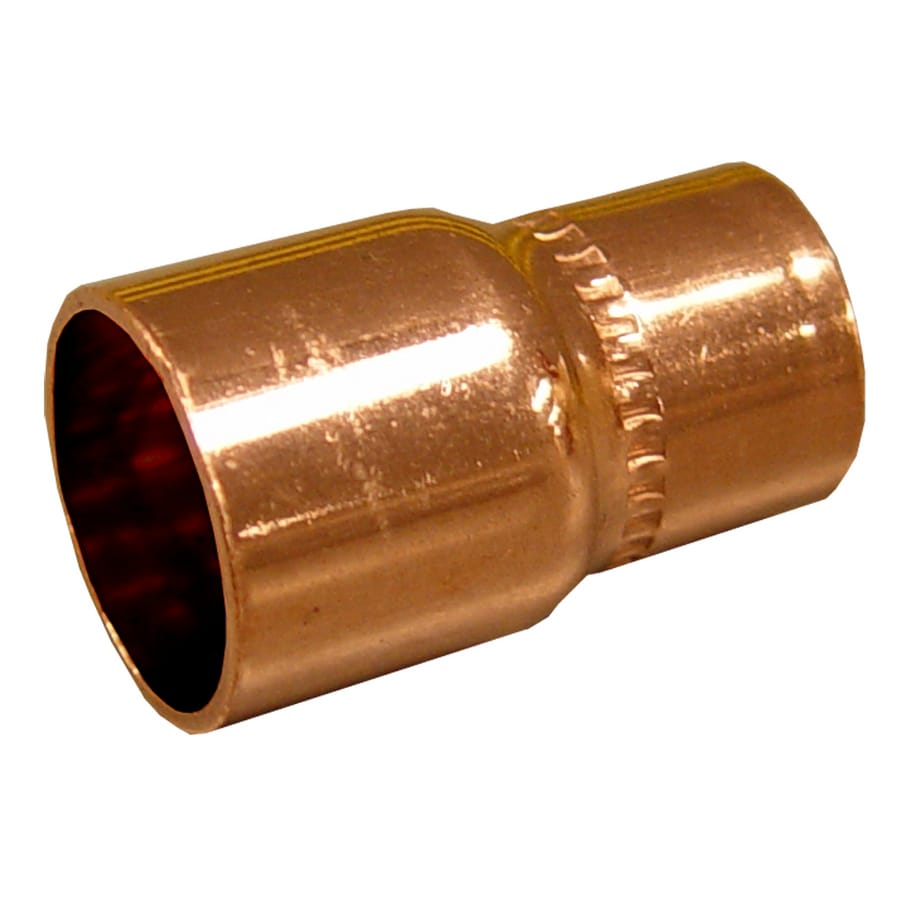 """1-1//2/"""" C x 3//4/"""" C Copper Reducing Coupling"""