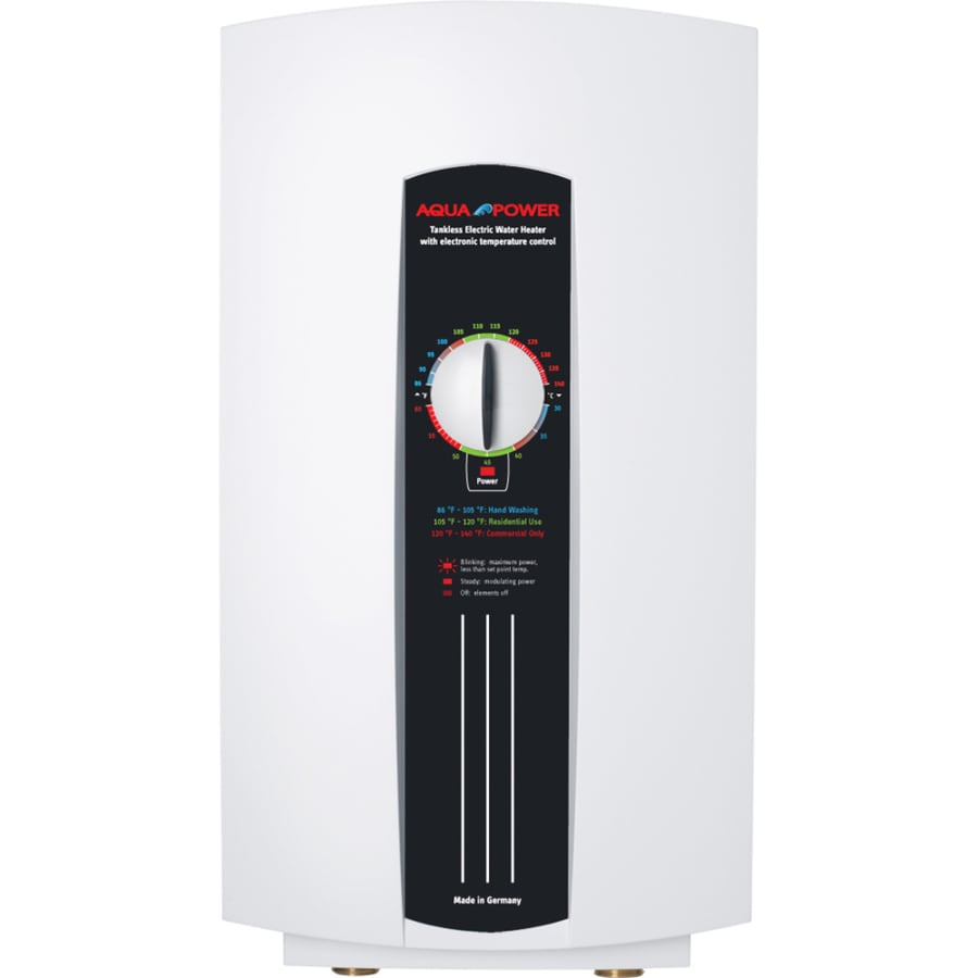 AquaPower AQE 8/10 240-Volt 9.6-kW 3.5-GPM Point of Use Tankless Electric Water Heater