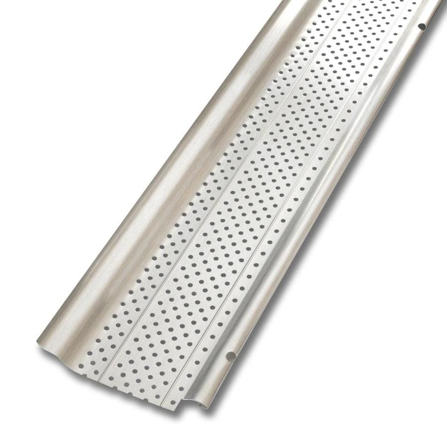 Smart Screen Aluminum Gutter Guard 5 In X 20 Ft At Lowes Com