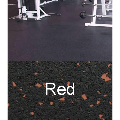 Amorim Rubber 4 X 10 Mat Flooring Color Black With Red