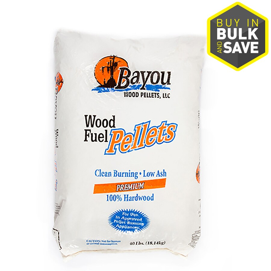 Bayou 40-lb Wood Pellets
