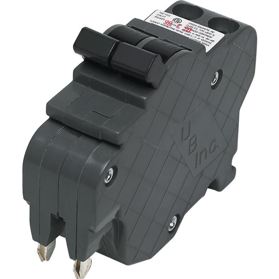 Shop Connecticut Electric Nc 50-Amp 2-Pole Standard Trip Circuit ...