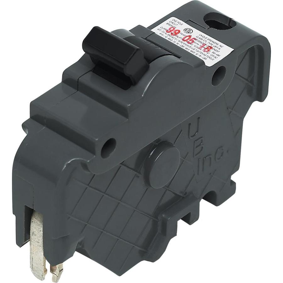 Connecticut Electric 15-Amp 1-Pole Circuit Breaker