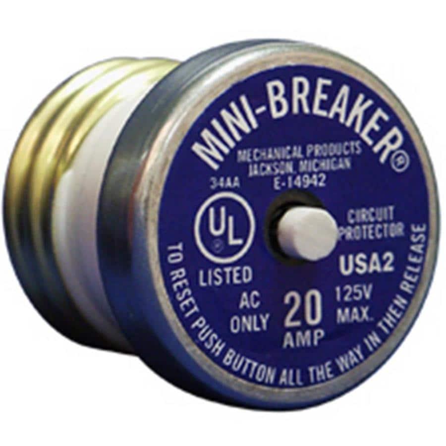Connecticut Electric 20-Amp 1-Pole Circuit Breaker