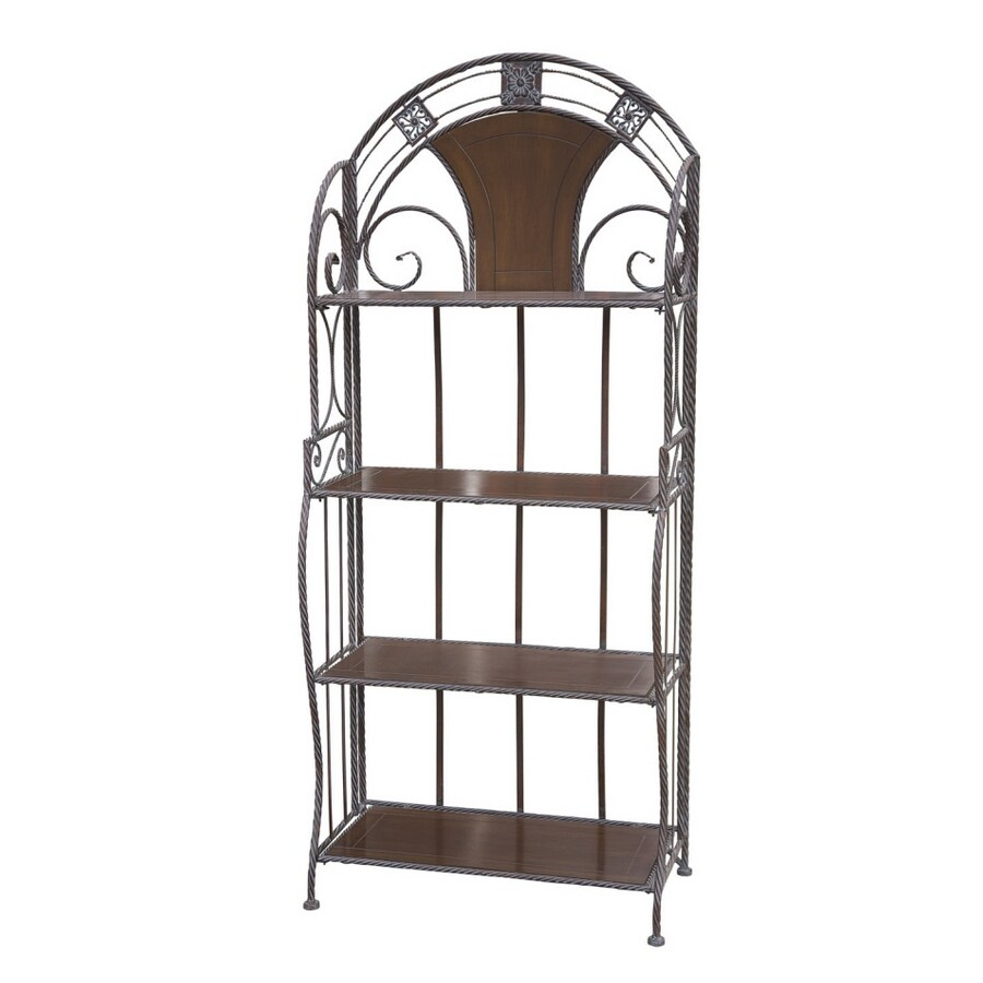 Shop Style Selections 4 Shelf Bakers Rack At Lowes.com