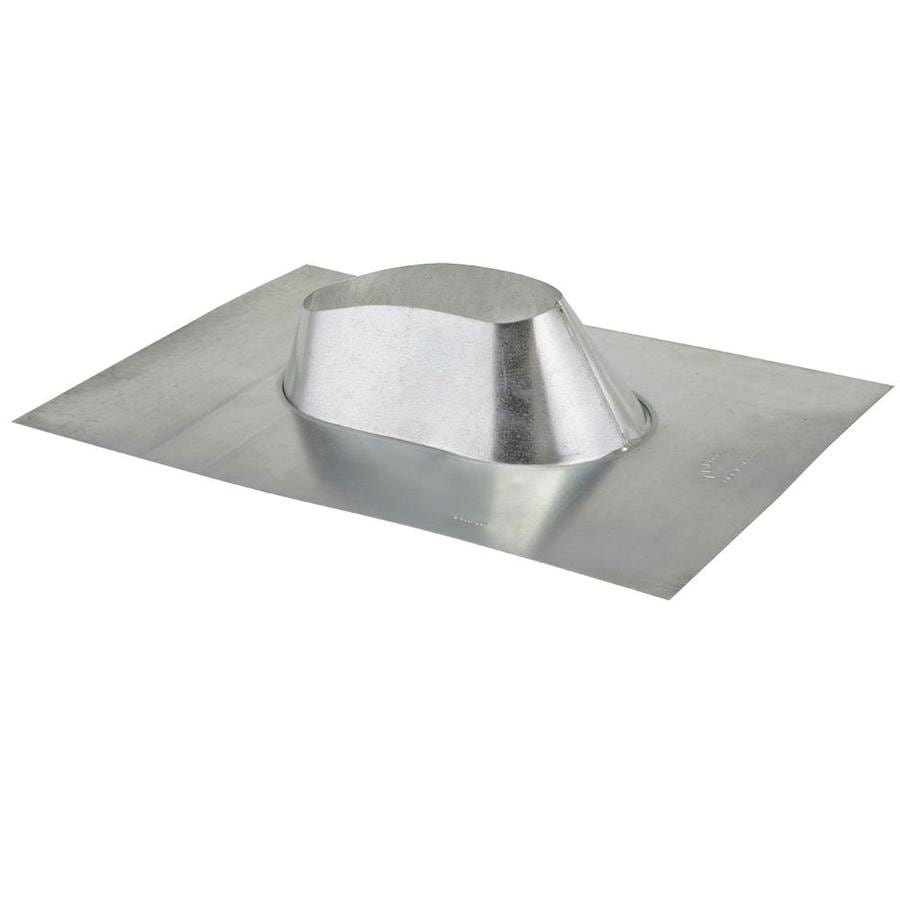American Metal Products 4-in x 14.75-in Aluminum Vent and Pipe Flashing