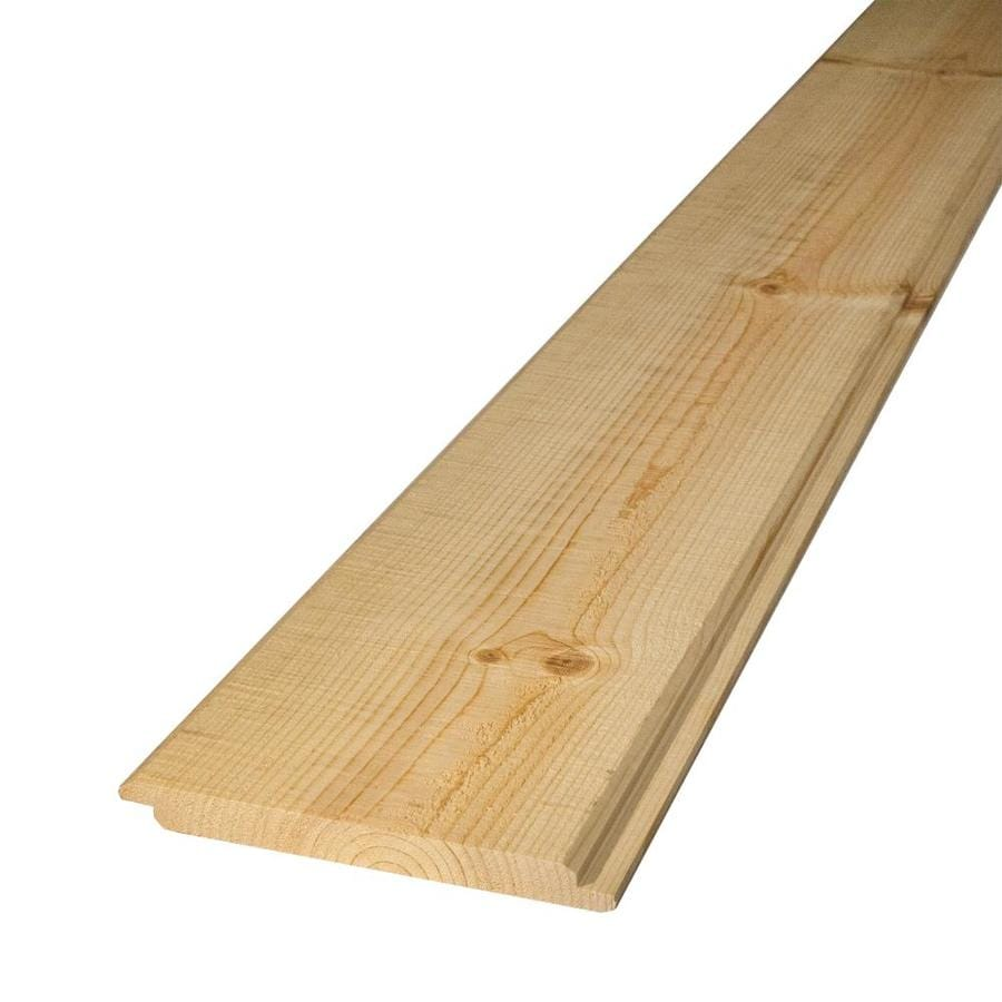 (Common: 1-in x 8-in x 8-ft; Actual: 0.68-in x 7.125-in x 8-ft) Pattern Stock Whitewood Board