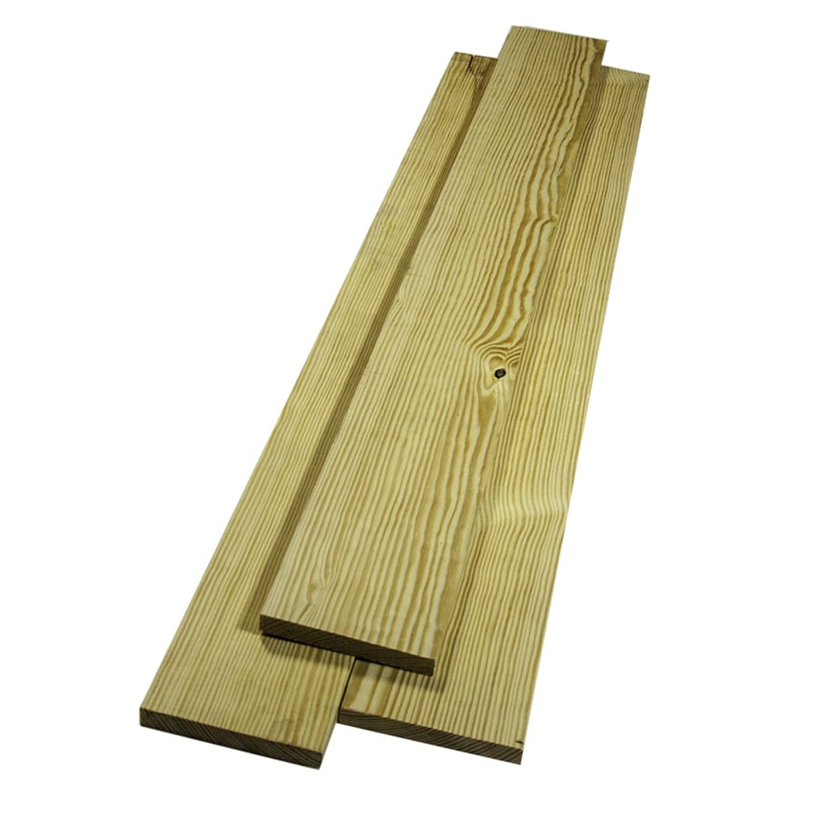 Southern Yellow Pine Board (Common: 1-in x 6-in x 12-ft; Actual: 0.75-in x 5.5-in x 12-ft)