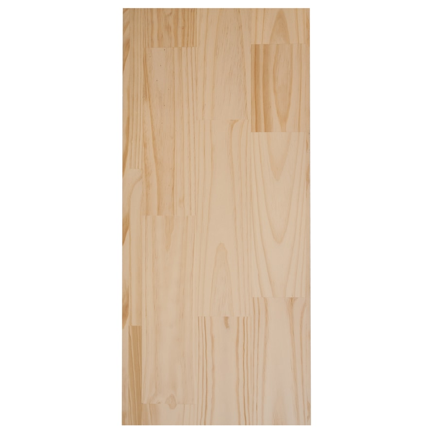 (Common: 3/4-in x 20-in x 8-ft; Actual: 0.62-in x 19.25-in x 8-ft) Pine Board