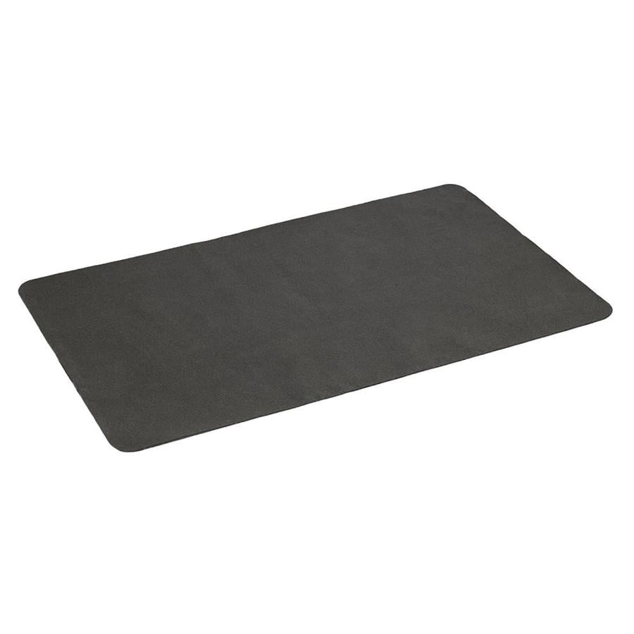Rubber mats lowes - The Gas Grill Splatter Mat 30 In L X 48 In W Non