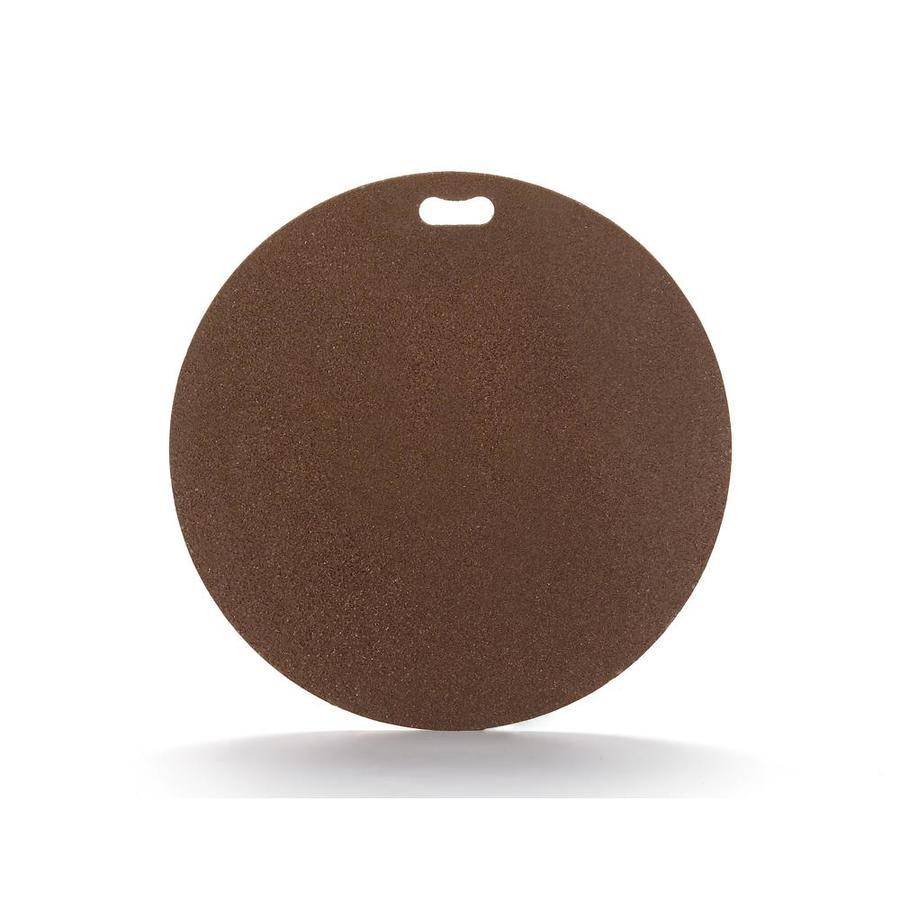 "The ""Original"" Grill Pad 30-in L x 30-in W Fiber Cement Round Earth Tone Brown Grill Mat"