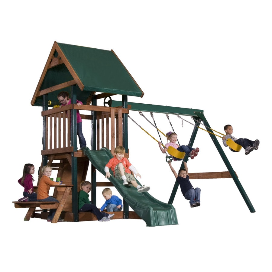Heartland Commander S Quarters Residential Wood Playset