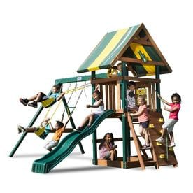 Shop Wood Playsets Amp Swing Sets At Lowes Com