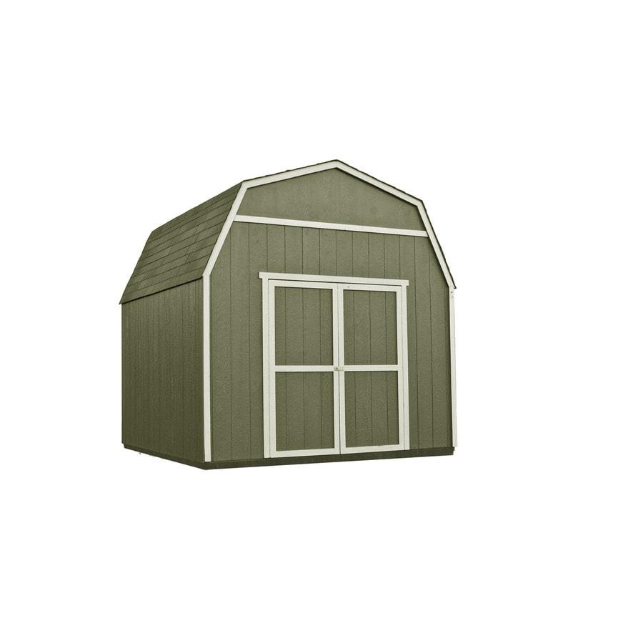Heartland Diy Rainier 10 X 10 Wood Storage Building With