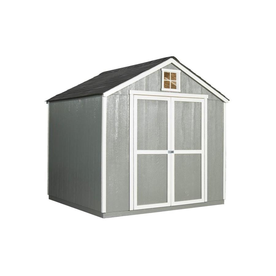Charmant Heartland Belmont Gable Engineered Wood Storage Shed (Common: 8 Ft X 8