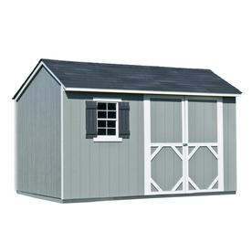 Heartland (Common: 12-ft x 8-ft; Interior Dimensions: 11.71-ft x 8 Feet) Stratford Saltbox Engineered Wood Storage Shed
