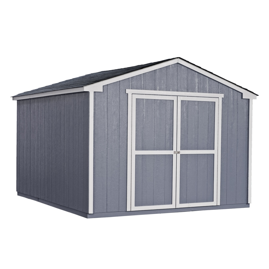 Heartland (Common: 10-ft x 12-ft; Interior Dimensions: 10-ft x 11.71-ft) Liberty Gable Engineered Storage Shed (Installation Not Included)