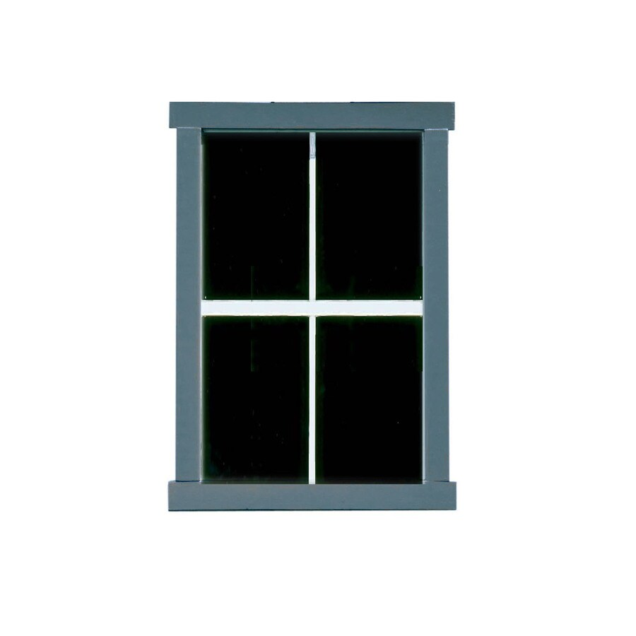 Heartland Clear Glass, Aluminum and Metal Storage Shed Window
