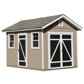 Garden Sheds 8 X 12 shop wood storage sheds at lowes