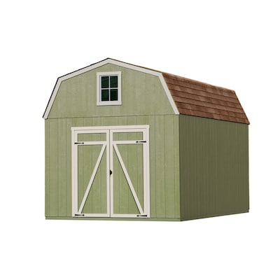 Common 10 Ft X 16 Ft Interior Dimensions 10 Ft X 16 Ft Estate Gambrel Engineered Storage Shed Installation Not Included