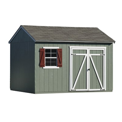 Common 12 Ft X 10 Ft Interior Dimensions 12 Ft X 10 Ft Gentry Saltbox Engineered Storage Shed Installation Not Included