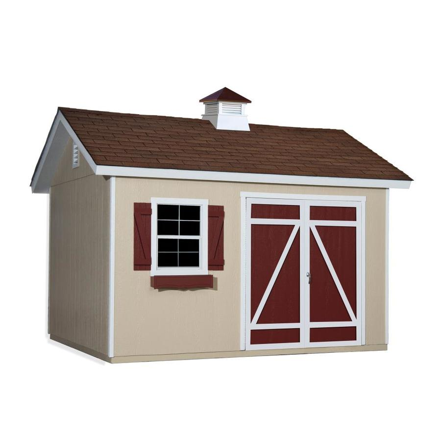 Heartland (Common: 10-ft x 12-ft; Interior Dimensions: 10-ft x 12-ft) Mansfield Gable Engineered Storage Shed (Installation Not Included)