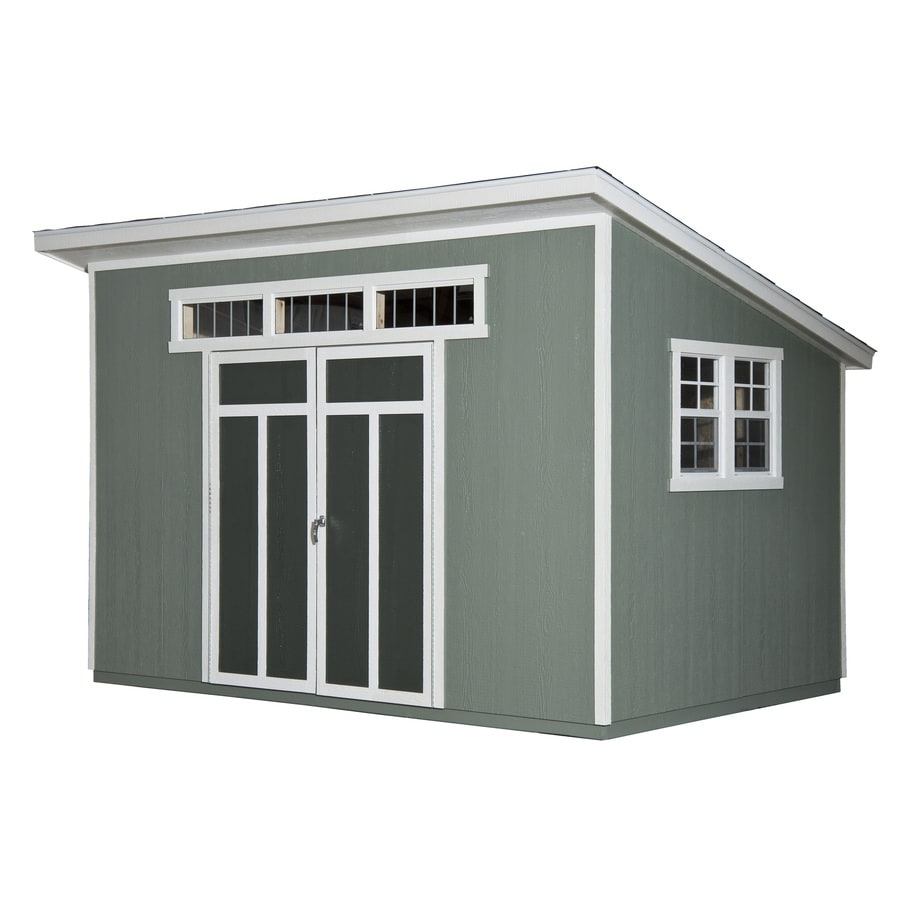heartland common 8 ft x 12 ft interior dimensions 75 - Garden Sheds With Lean To