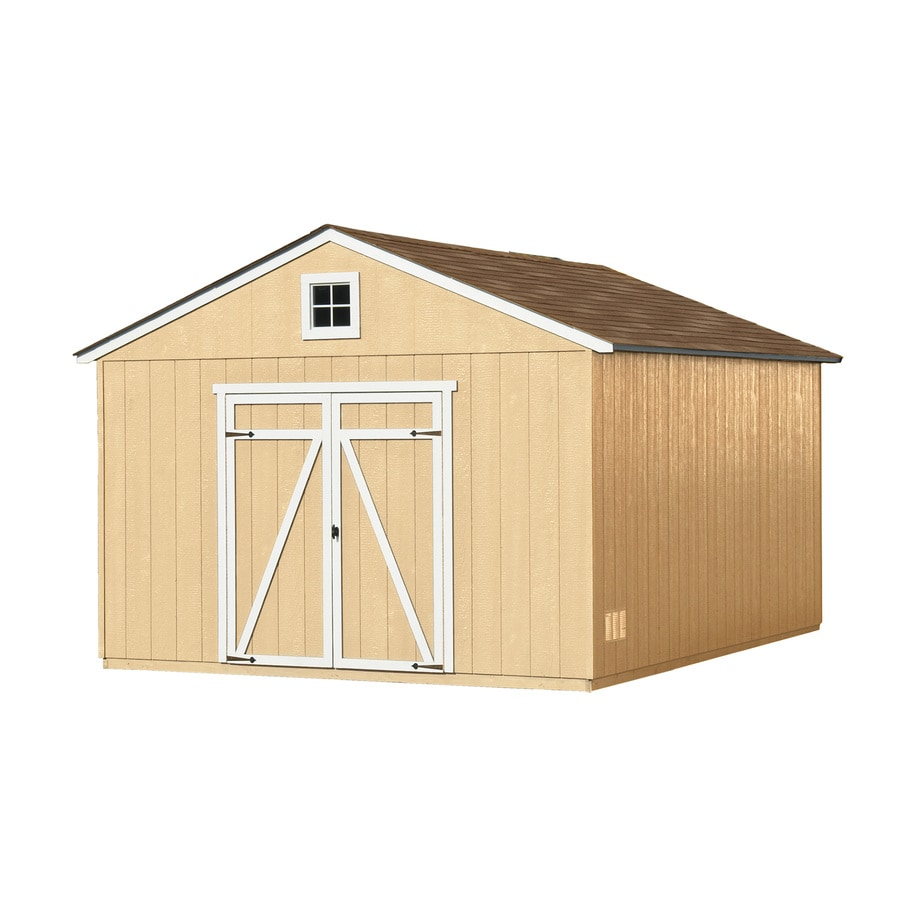 Heartland (Common: 12-ft x 16-ft; Interior Dimensions: 11.42-ft x 15.42-ft) Statesman Gable Engineered Storage Shed (Installation Not Included)
